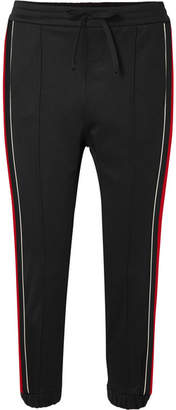Gucci Striped Jersey Track Pants - Black