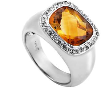 Generic Gemstones 14K 0.33 Ct. Tw. Diamond & Citrine Ring