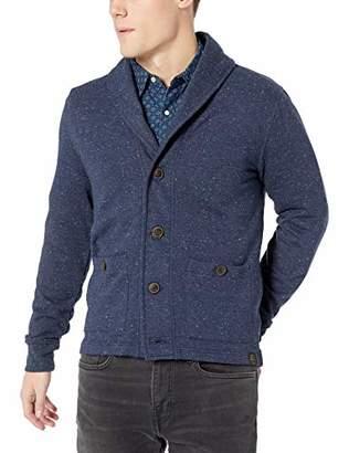 Lucky Brand Men's Show Heather Shawl Cardigan Sweater