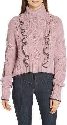 Cinq à Sept Edna Ruffle Sweater