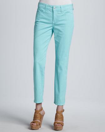 NYDJ Lisa Zip-Ankle Jeans