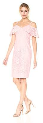 Trina Turk Trina Women's Mysterious Lavish Floral Lace Dress