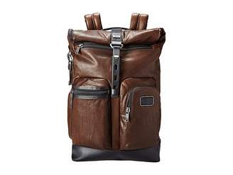 Tumi Alpha Bravo - Luke Leather Roll-Top Backpack