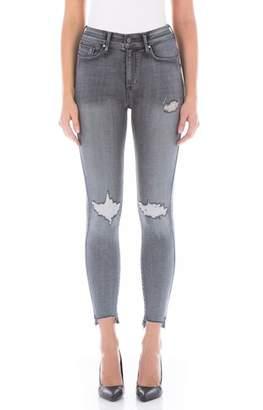 Fidelity Luna High Waist Distressed Skinny Jeans