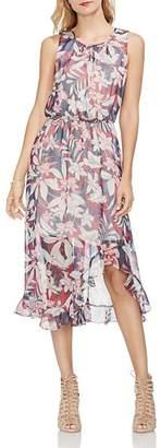Vince Camuto Tropical Escape Midi Dress