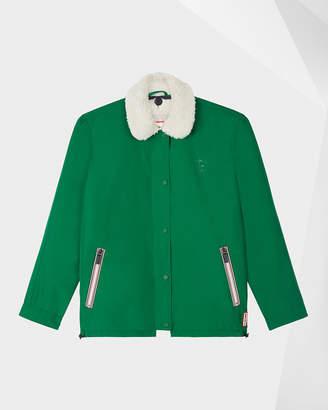 Hunter Women's Original Shell Jacket With Fleece Liner