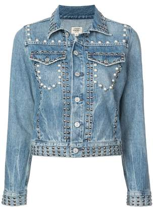 Citizens of Humanity Cleo studded denim jacket