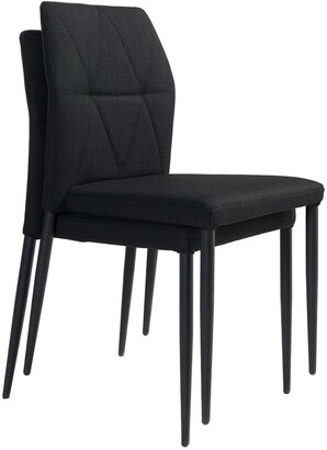 ZUO Set Of 2 Revolution Dining Chairs