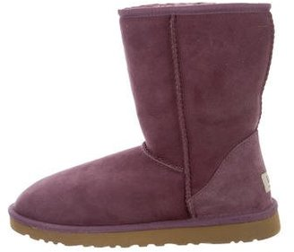 UGG Australia Classic Ankle Boots $95 thestylecure.com