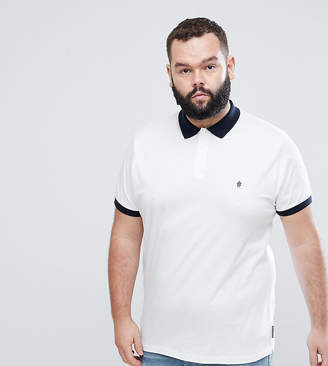 French Connection PLUS Contrast Collar Polo Shirt