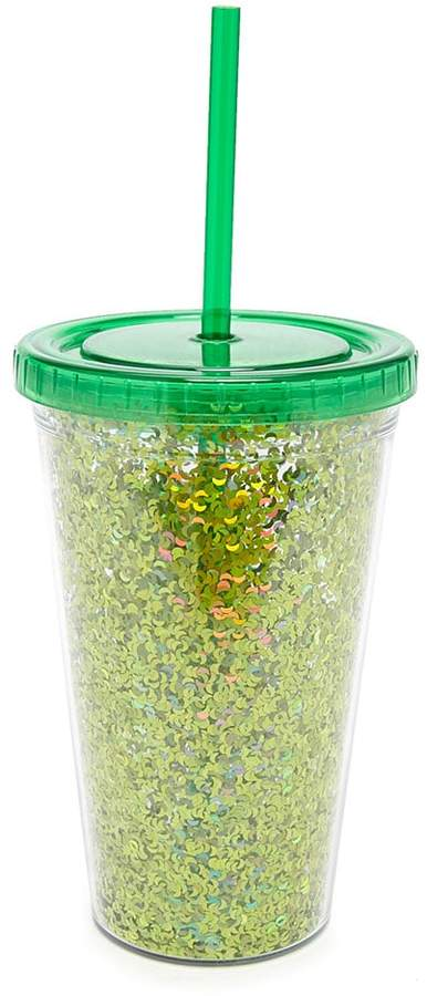 FOREVER 21 Sequin Cold Cup