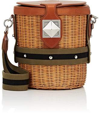 Sonia Rykiel Women's Le Jardin Wicker & Leather Bucket Bag