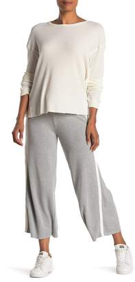 Velvet by Graham & Spencer Rowan Heathered Athleisure Crop Sweatpants