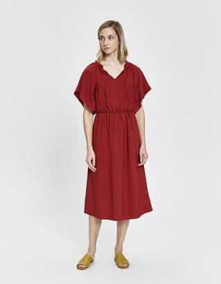 Farrow Jacqueline Splitneck Midi Dress