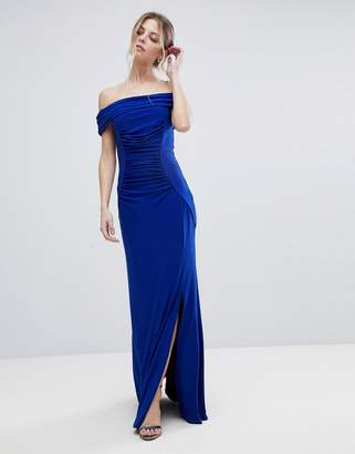 Coast Shay Slinky Jersey Bardot Maxi Dress