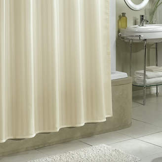 Charlton Home Darmstadt Damask Stripe Shower Curtain Liner
