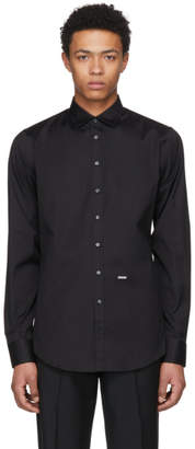 DSQUARED2 Black Carpenter Shirt