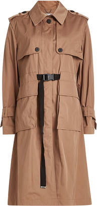 Kenzo Trench Coat with Cotton