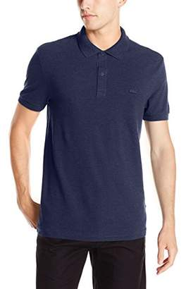 Lacoste Men's Short Sleeve Garment Dyed Vintage Polo