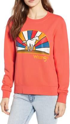Wrangler Horse Graphic Sweatshirt