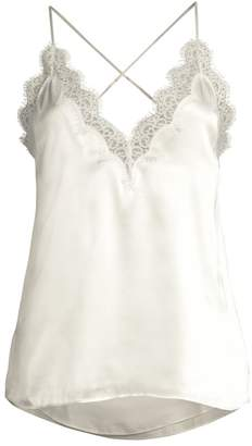 CAMI NYC Everly Silk Lace Cami