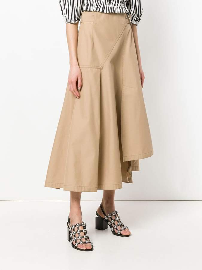 3.1 Phillip Lim asymmetric a-line skirt