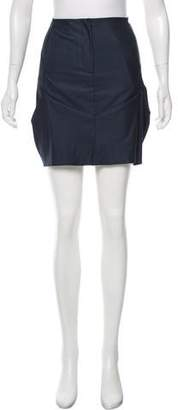 Zero Maria Cornejo Pleated Mini Skirt