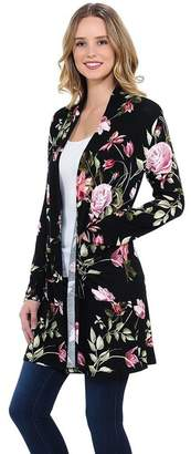Luna Beautiful Floral Cardigan