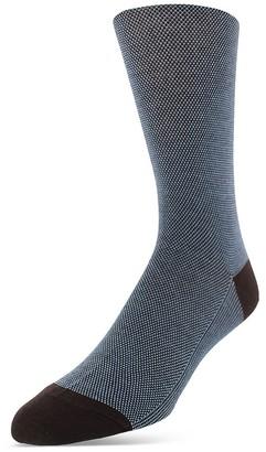 Bruno Magli Birdseye Dress Socks $30 thestylecure.com