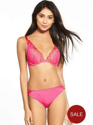 Wonderbra Refined Glamour Triangle Bra - Pink