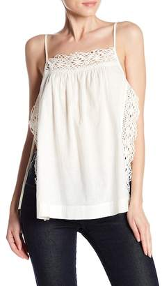 Melrose and Market Open Side Lace Trim Cami
