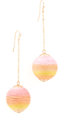Shashi Jolene Chain Drop Earrings $35 thestylecure.com