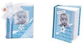 Baby Essentials 7Ã'Â1⁄2 Baby Boy First Photo Album