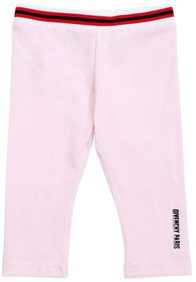Givenchy Cotton Jersey Leggings With Logo Detail