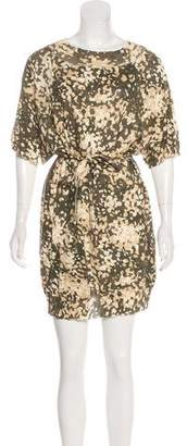 Stella McCartney Abstract Print Sweater Dress