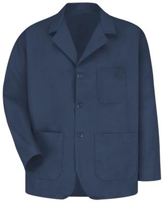 Red Kap Men's Lapel Counter Coat