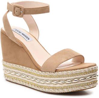 Steve Madden Walta Wedge Sandal - Women's