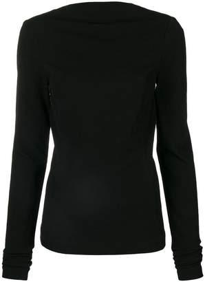 Rick Owens zip back blouse