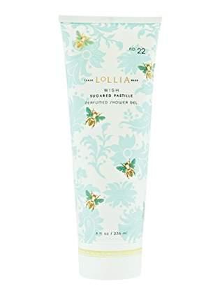 Lollia (ロリア) - ロリア(LoLLIA) パフュームドシャワージェル Wish 236ml(全身用洗浄料 ボディーソープ ジャスミン、イランイラン、アンバー、ベルガモットの香り)