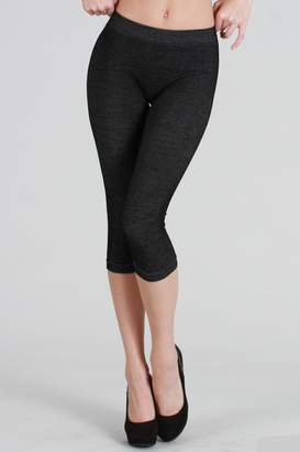 Nikibiki Two-Tone Capri Leggings