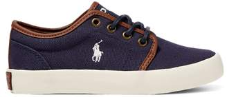 Ralph Lauren Ethan Low Canvas Trainer