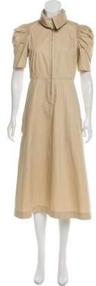 Celine Short Sleeve Midi Dress