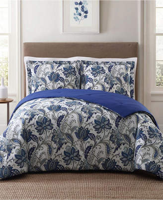 Pem America Style 212 Bettina Floral King Comforter Set Bedding