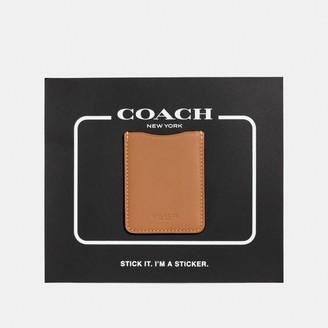 Coach Phone Pocket Sticker