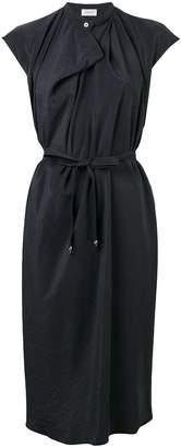 Lemaire wrap style midi dress