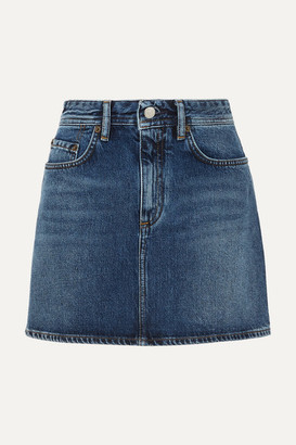 Acne Studios Mini Denim Skirt - Mid denim
