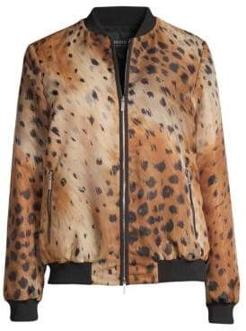 Lafayette 148 New York Melrose Animal Print Jacket