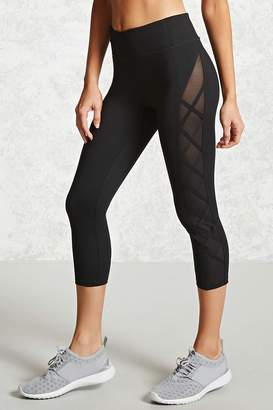 Forever 21 Active Side Panel Leggings