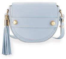 Milly Astor Small Saddle Crossbody Bag