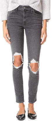 Levi's 721 High Rise Skinny Jeans $90 thestylecure.com
